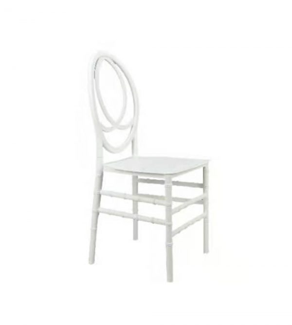 Plastic Phoenix Chair – White