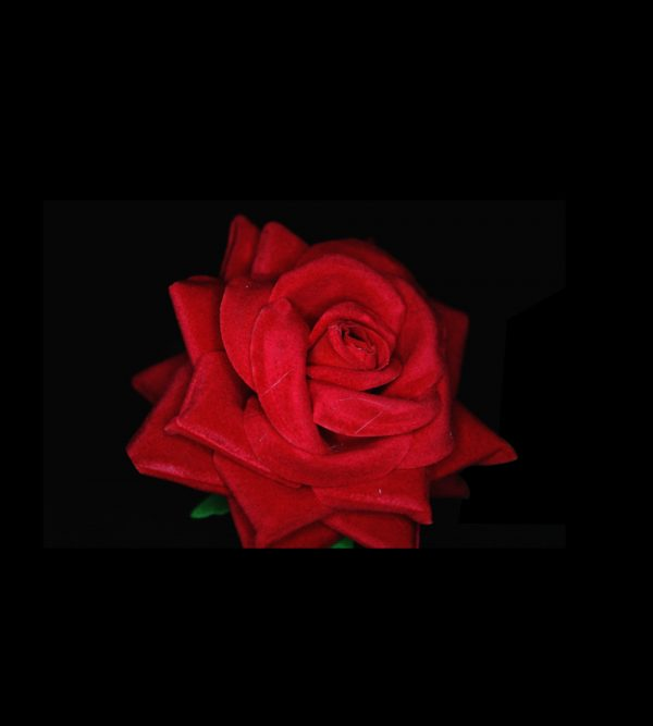 1pc Artificial Rose – Red