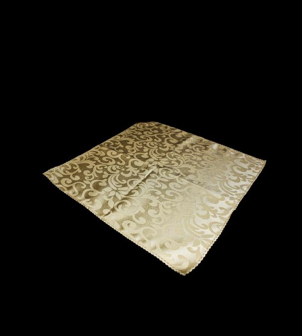 Napkin With Pattern – Coffee Gold