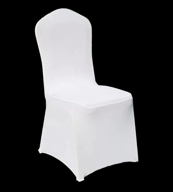 210g Spandex Banquet Chair Cover – White