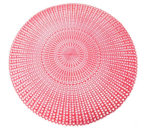 Pvc Placemat – Red