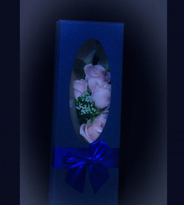 Artificial Soap Flower – Pink