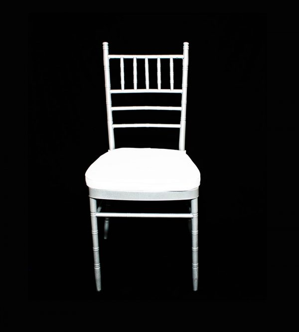 Steel Tiffany Chair – White (cushion sold separately)