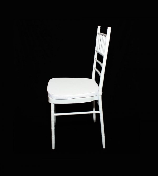 Steel Tiffany Chair – Silver (cushion sold separately)