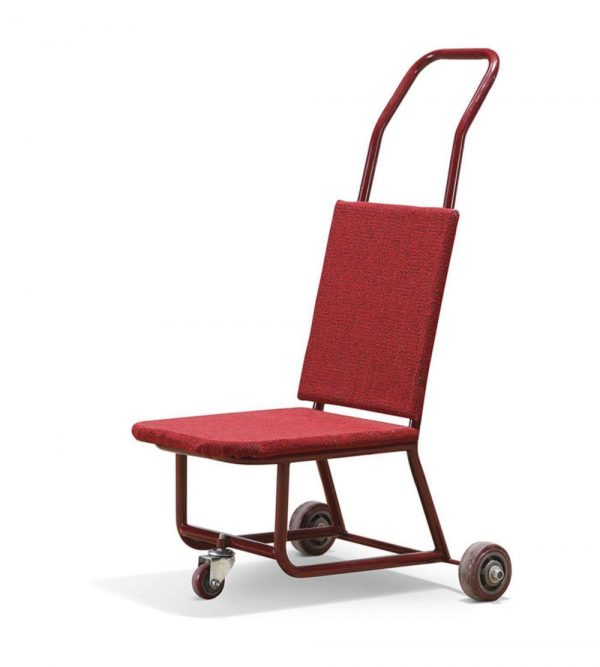 Banquet Chair Trolley – Red