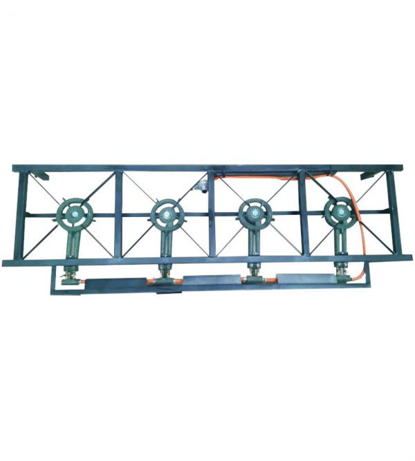4 Plate Heavy Duty Industrial Gas Stove