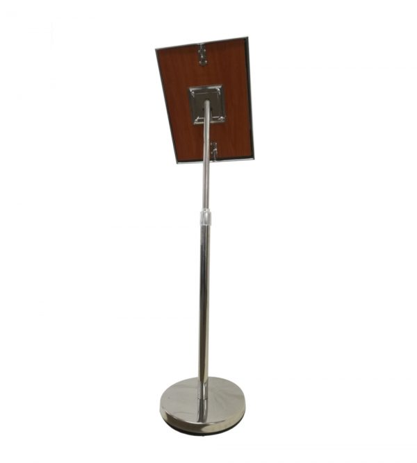 Notice Board Stand – Silver A3 Size