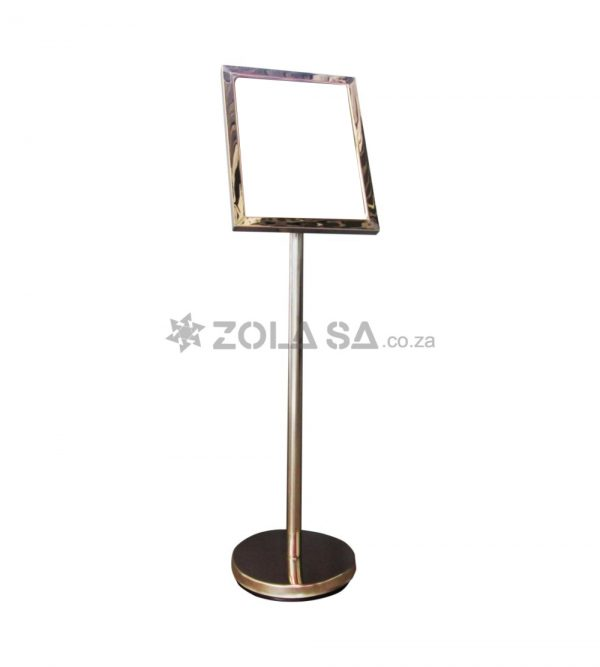 Poster Frame Stand 32*42 Silver- A3 Size
