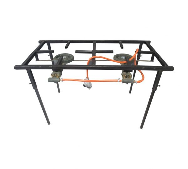 2 Plate Light Duty Gas Stove