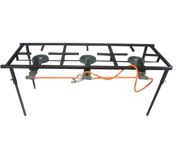 3 Plate Light Duty Gas Stove