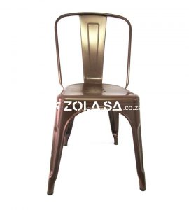 Tolix Cafe Chair Copper
