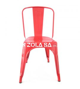 Tolix Cafe Chair Red
