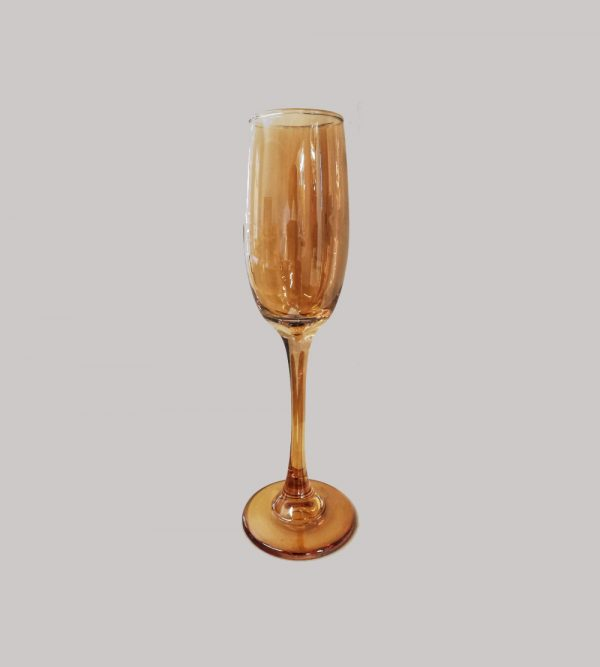 Champagne Glass Amber