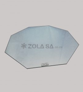 Mirror Underplate Hexagon 40Cm