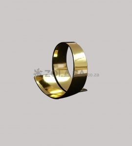 Swirl Napkin Ring Gold Colour