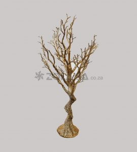 Gold Tree Ornament