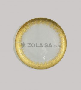 Glass Splash Gold Underplate