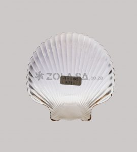 Glass Dessert Bowl Shell Shape