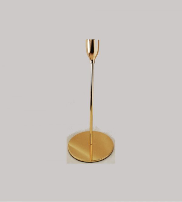 Gold Candle Stick 20Cm