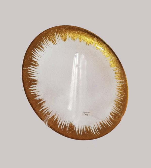 Plastic Splash Underplate Gold Colour