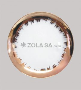 Plastic Splash Underplate Rose Gold Colour