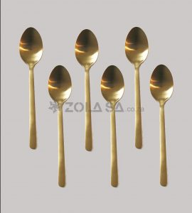 Stainless Steel Gold Table Spoon 6Pc/Pack