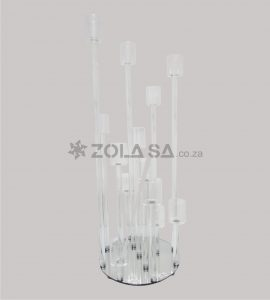 13 Branches Glass Candle Holder