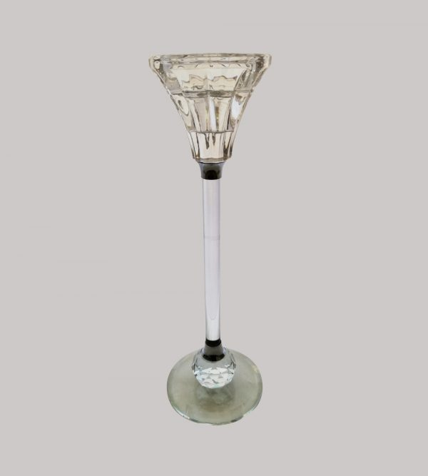 Crystal Candle Holder 18Cm H