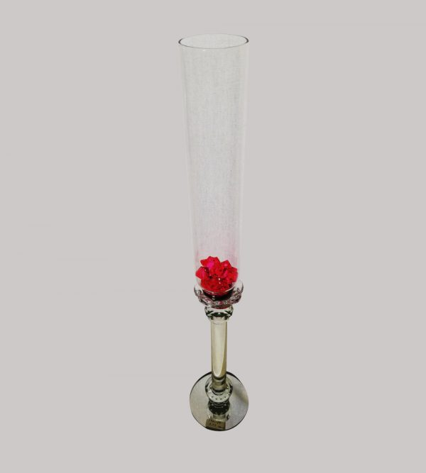 Single High Candle Holder 62Cm H