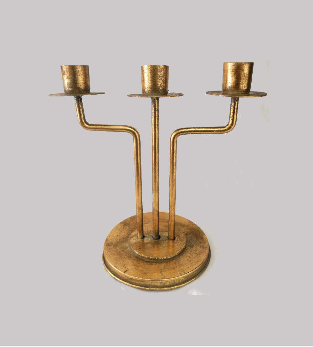 Vintage Look 3 Branches Candle Holder
