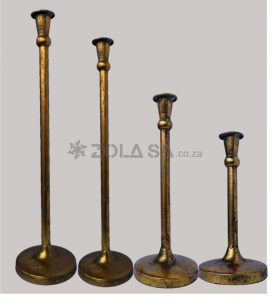 Vitage 4Pc Candle Stick