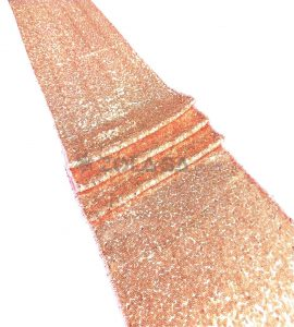 Sequins Runner Rose Gold