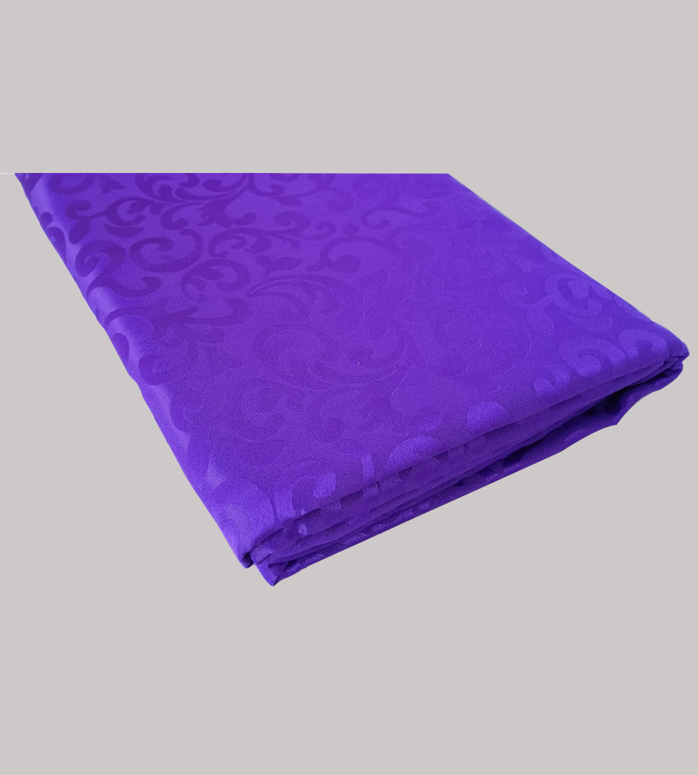 2.2m is for 1.8m Rectangular table cloth Purple With Pattern