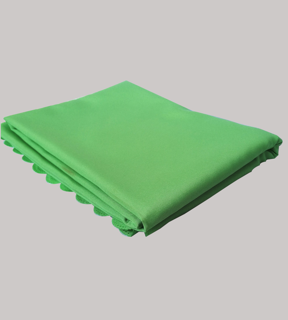 2.2m is for 1.8m Rectangular table cloth fern green
