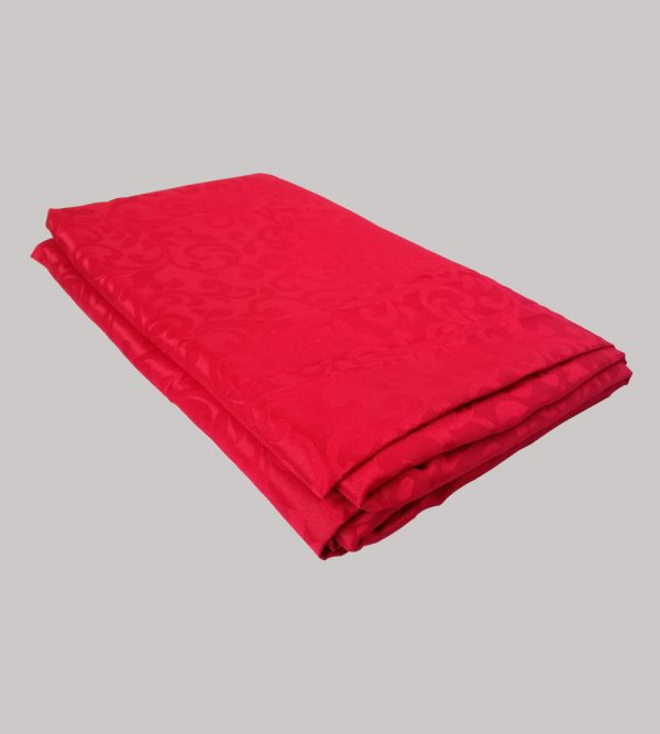 2.2m is for 1.8m Rectangular table cloth red with pattern