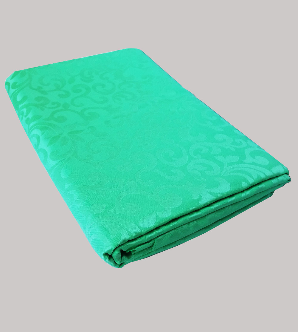 2.2m is for 1.8m Rectangular table cloth teal with pattern