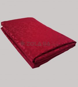 3.2m is for 1.8m diameter round tablecloth  maroon with pattern