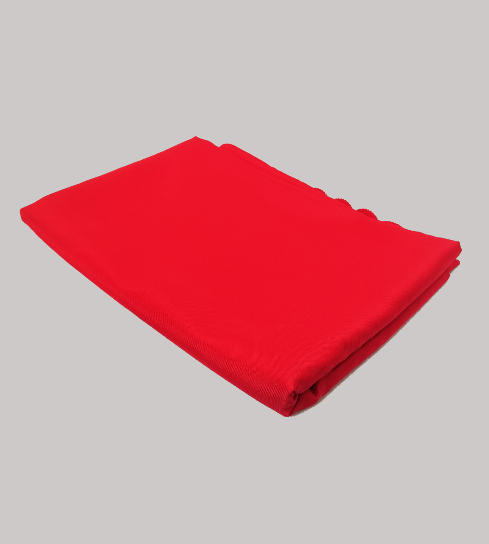 3m is for 1.6m diameter round table cloth Red